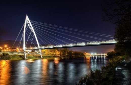Find Out More About Strabane Pedestrian Bridge