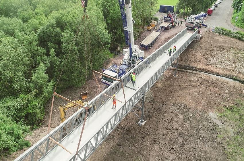 Comber Greenway Pedestrian Bridge